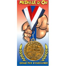 Médaille d'Or Joyeux...