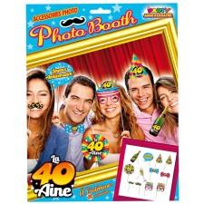 Pack photobooth pour anniversaire 40 ans