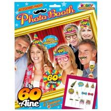 Pack de photo booth marrant pour anniversaire 60 ans