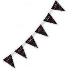 Grande guirlande multicolore pour anniversaire