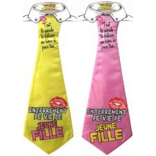 Cravate humoristique EVJF