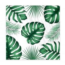 Serviettes en papier sur le thème tropical