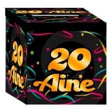 Urne 20 ans cagnotte anniversaire