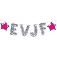 Guirlande pour réaliser une décoration EVJF originale