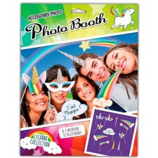 Photo booth anniversaire licorne