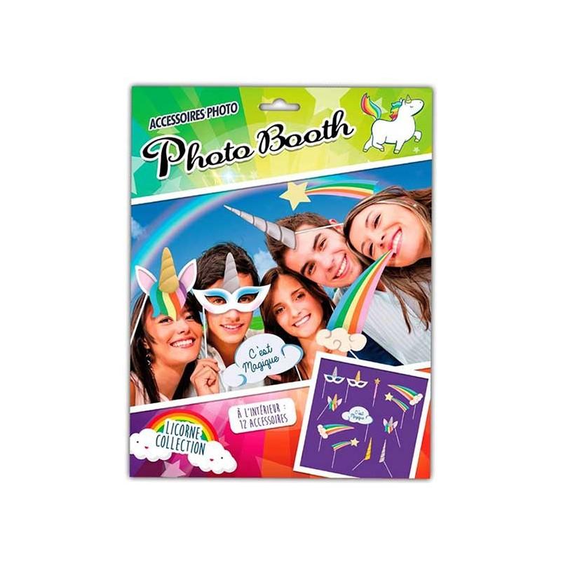 Photo booth anniversaire licorne