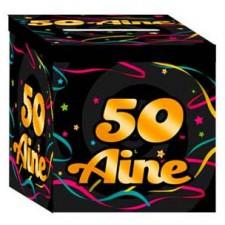 Urne en carton pour anniversaire 50 ans