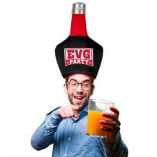 Chapeau bouteille pour enterrement de vie de garçon