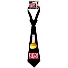 Cravate porte-bouteille pour enterrement de vie de garçon accessoire marrant et pratique