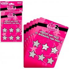 Tickets à grattes avec gages accessoire pour EVJF