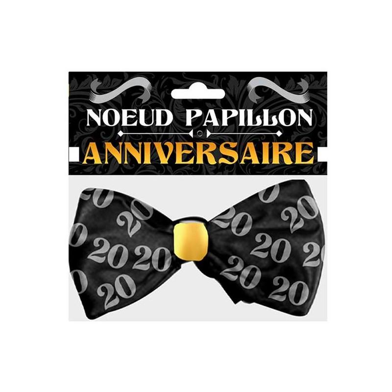 Nœud papillon 20 ans cadeau marrant d'anniversaire