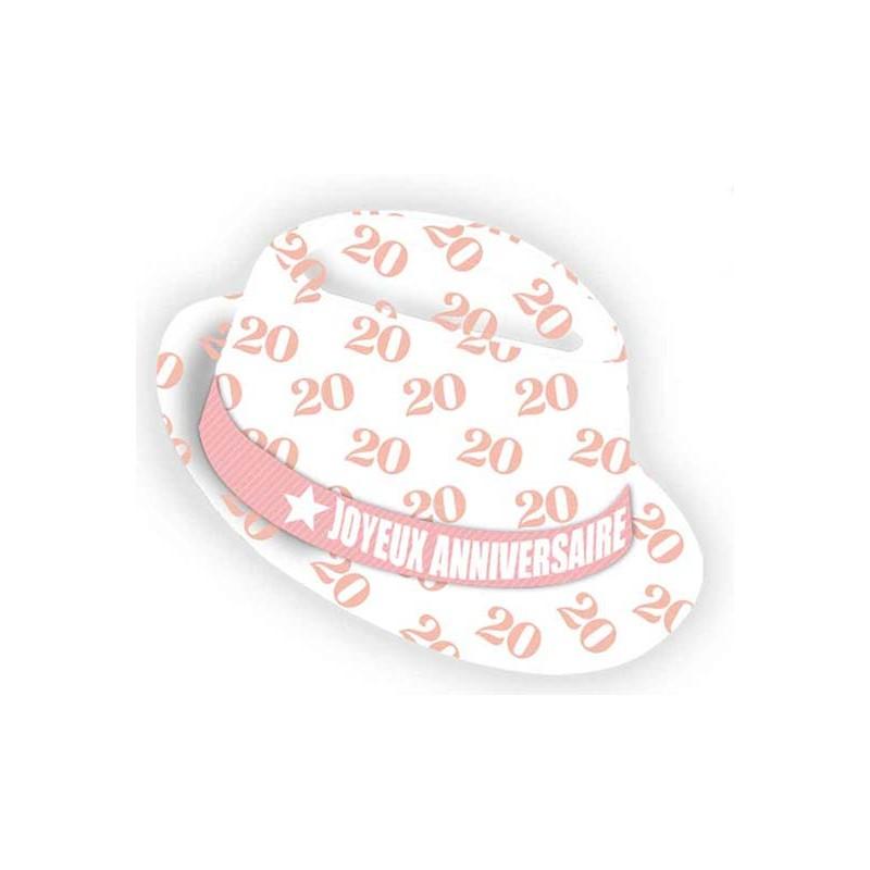 Chapeau original anniversaire femme 20 ans
