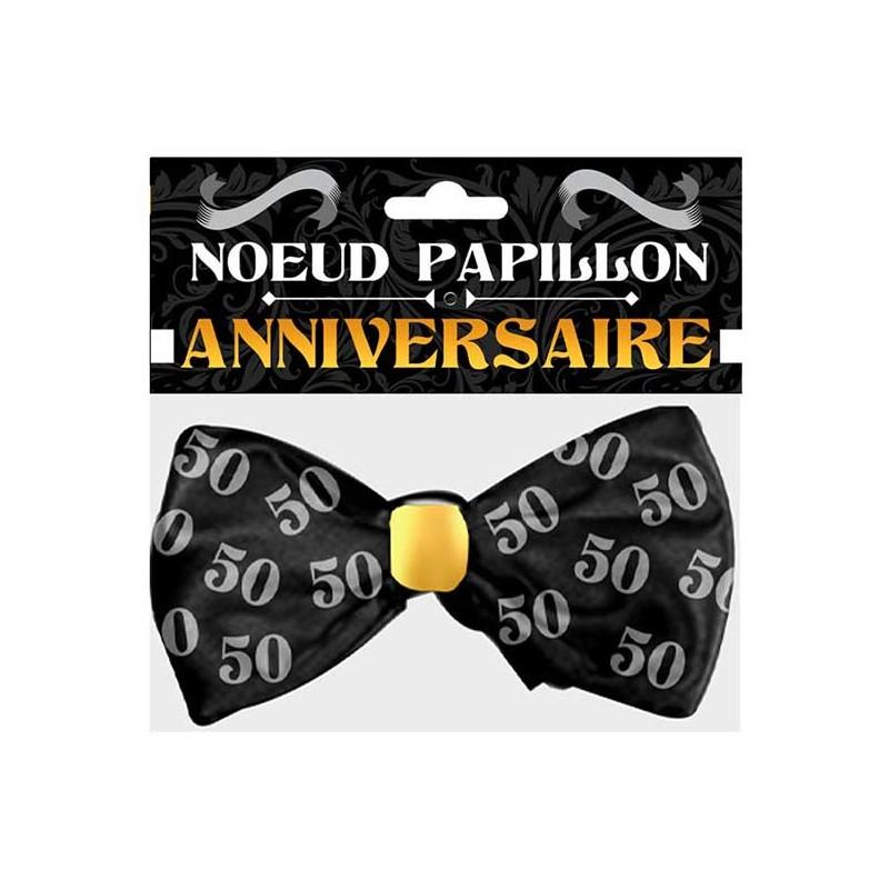 Joli nœud papillon pour anniversaire 50 ans cadeau marrant