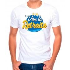 Tee-shirt pour retraite homme