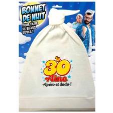 Bonnet de nuit humoristique pour cadeau d'anniversaire 30 ans