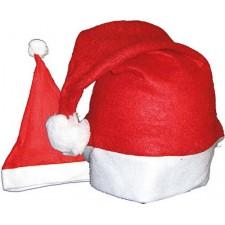 Bonnet de père Noël en feutrine