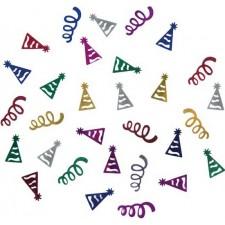 Confettis de table festifs pour anniversaire