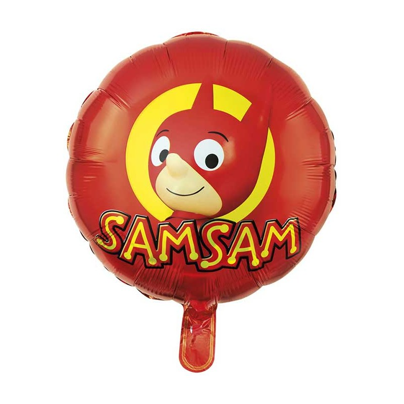 Ballon SamSam pour anniversaire enfant