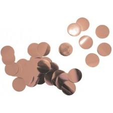 Confettis rose gold pour décoration de table
