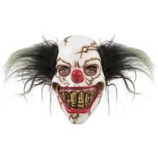 Masque de squelette clown très réaliste pour Halloween