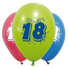 Ballons 18 ans pour anniversaire décoration