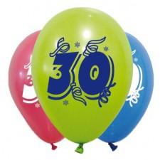 Ballons 30 ans spéciale anniversaire