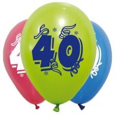 Ballons de baudruche pour anniversaire 40 ans