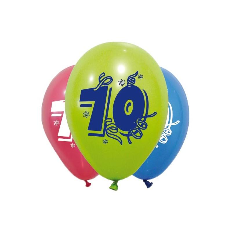 Ballon de baudruche pour anniversaire 70 ans