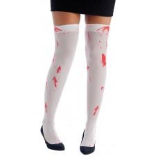 Bas sanglants pour déguisement d'Halloween effrayant