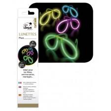 Lunettes fluorescentes