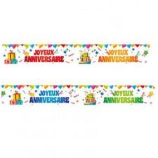 Banderoles pour anniversaire