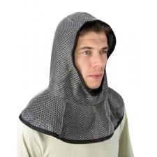 Cagoule de chevalier accessoire médiéval