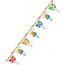 Guirlande 50 ans pour anniversaire