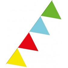 Guirlande pour fête aux couleurs festives taille 10 mètres