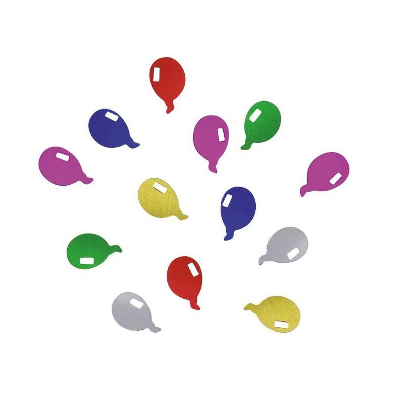 Confettis de table ballons pour décorer une table festive