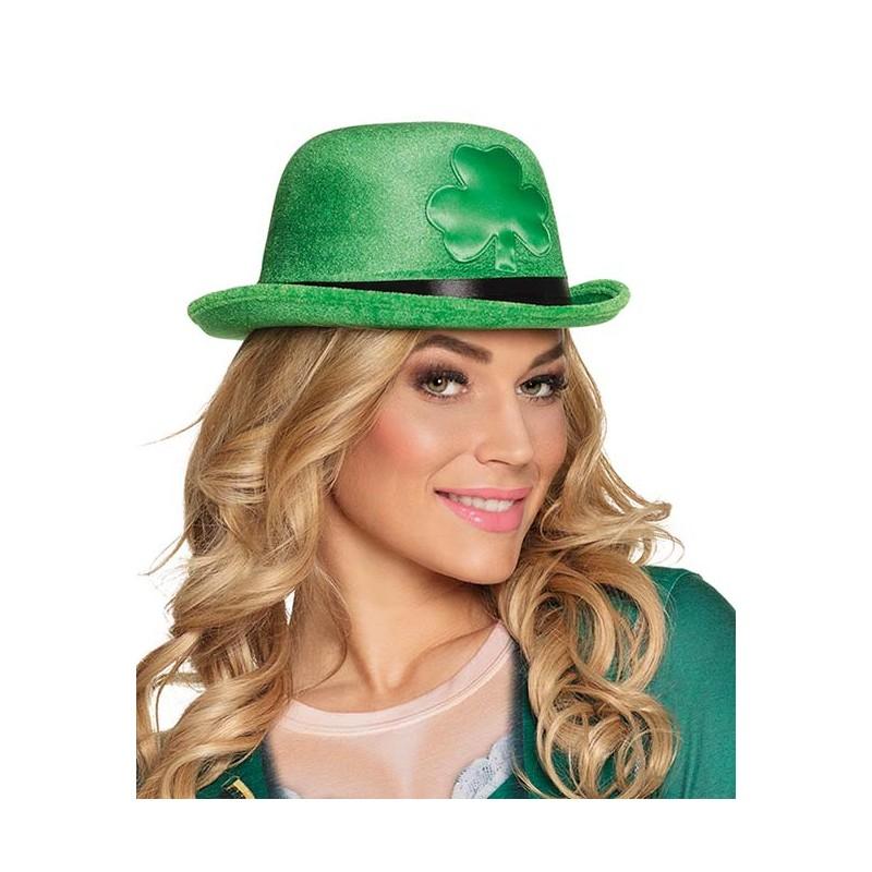 Chapeau vert rond pour la Saint-Patrick