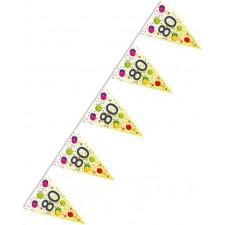 Guirlande pour décoration d'anniversaire 80 ans
