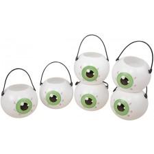 Mini pots à bonbons en forme d'œil pour Halloween