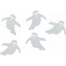 Confettis de table Halloween en forme de fantômes