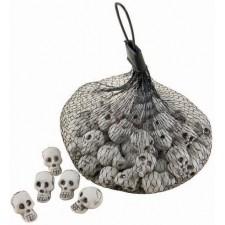 Crânes décoratifs pour soirée Halloween ou horreur