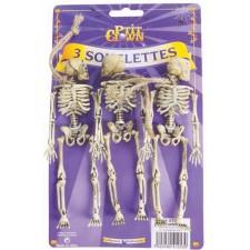 Squelettes d'Halloween décoratifs à accrocher