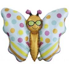 Ballon en forme de papillon pour anniversaire enfant
