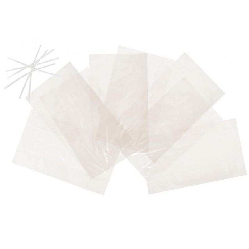 Sachets transparents pour mettre des bonbons
