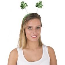 Serre-tête de la Saint-Patrick avec trèfles verts