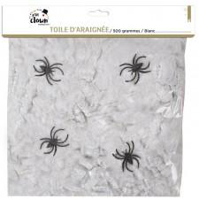 Toile d'araignée géante pour décoration d'Halloween