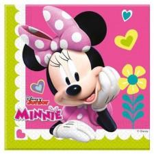 Serviettes en papier Minnie pour anniversaire enfant