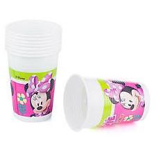 Verre anniversaire enfant Minnie Disney