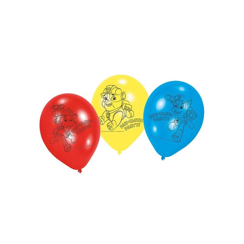 Ballon anniversaire Pat'Patrouille pour enfant