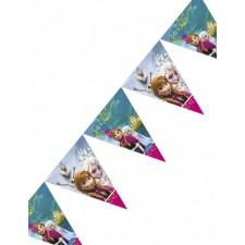 Guirlande pour décoration d'anniversaire sur le thème de la Reine des Neiges
