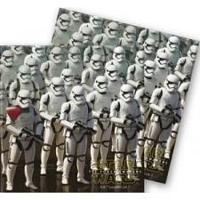 Serviettes en papier Star Wars pour anniversaire enfant